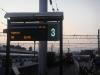 Anzeigetafel Bahnhof Moskau