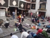 Pilger vor dem Jokhang Temple