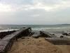 Einsamer Strand im Norden
