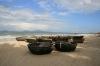 Fischerbötchen Cua Dai Beach