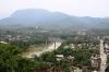 Aussicht über Luang Prabang vom Berg Phu Si