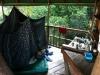 Schlafecke im Baumhaus