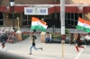 Grenzschliessungs-Zeremonie Indien-Pakistan