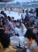 Ganga Aarti - Religioese Zeremonie am Ganges