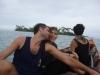Fischerboot nach Pulau Palambak