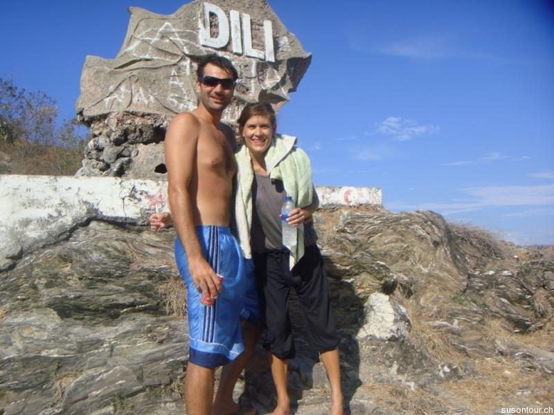 Tauchen am Dili Rock