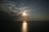 Sonnenuntergang beim Cristo Rei