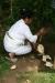Frische Kokosnuss im Pura Besakih