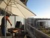 BBQ auf Silvias Balkon