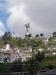 Blick auf El Panecillo und la Virgen de Quito