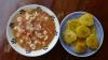 Ceviche y Patacones