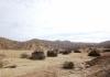 Busfahrt durch Perus Wuestenlandschaft
