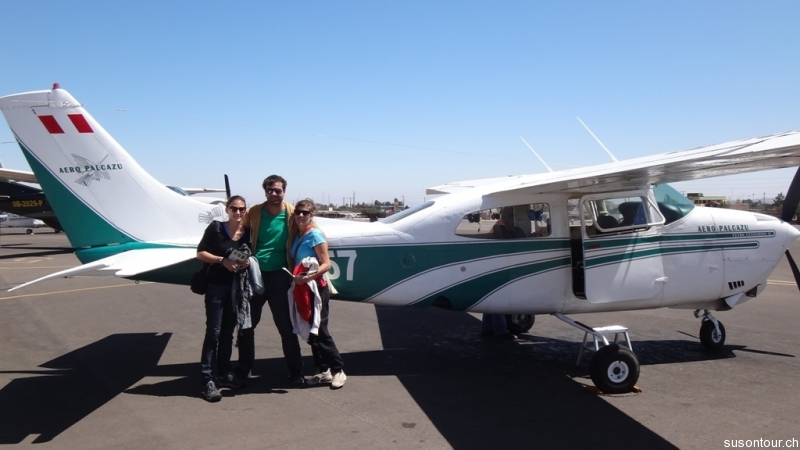 Nazca Linien Flug