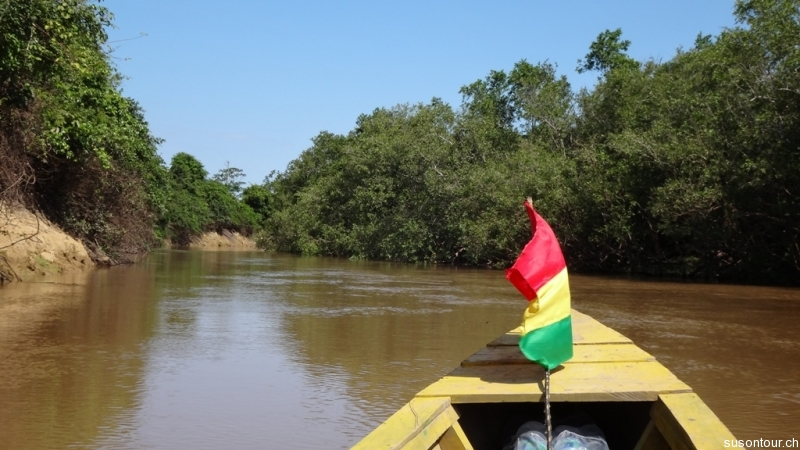 Bootsfahrt auf dem Rio Yacuma