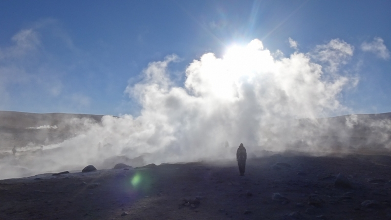 Geysir Sol de Manana