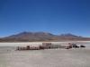 Salzhotel mitten in der Salar de Uyuni