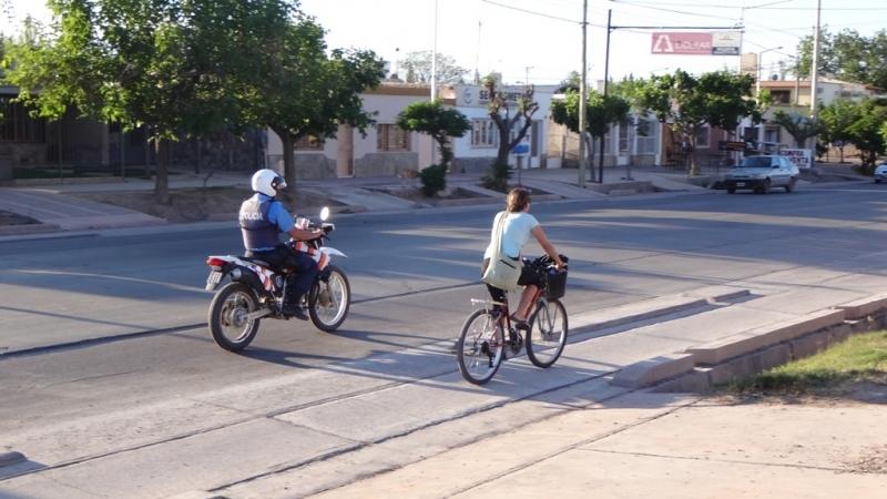Polizeischutz auf der Heimfahrt