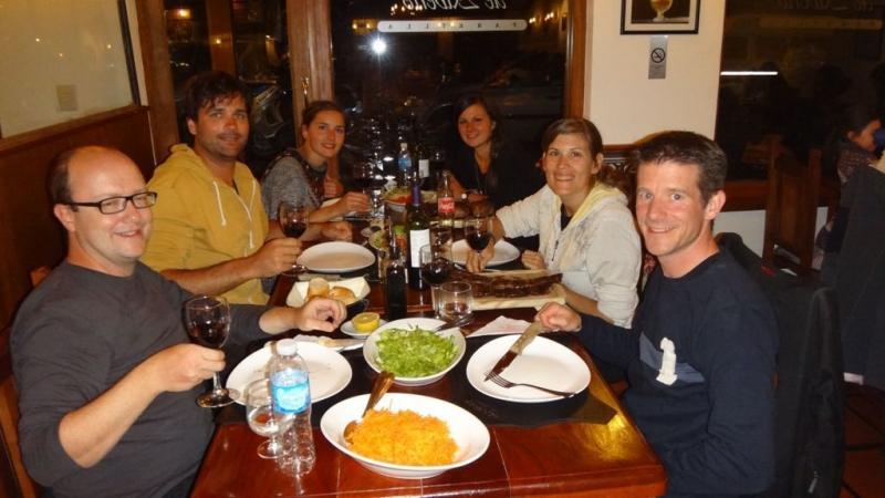 Znacht im El Boliche de Alberto