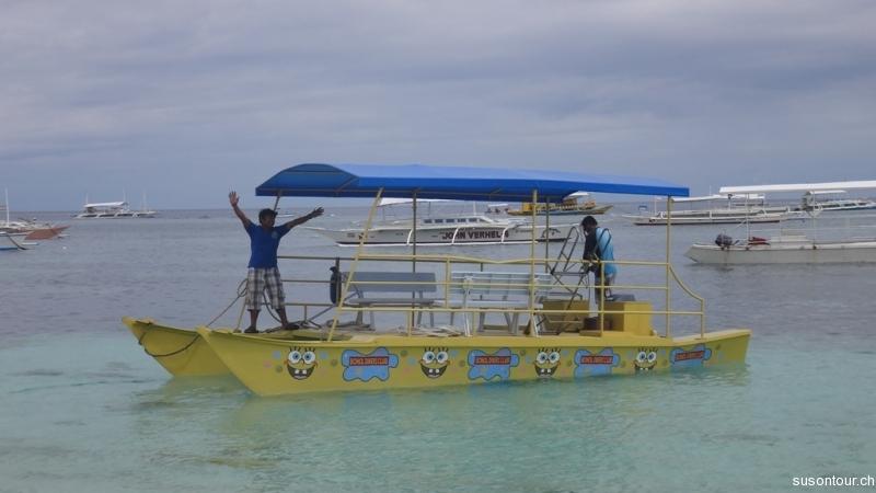 Sponge Bob Taxiboot