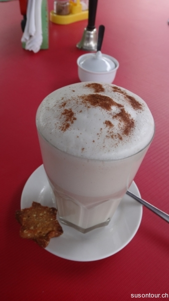 Cafe Latte im Arts Cafe