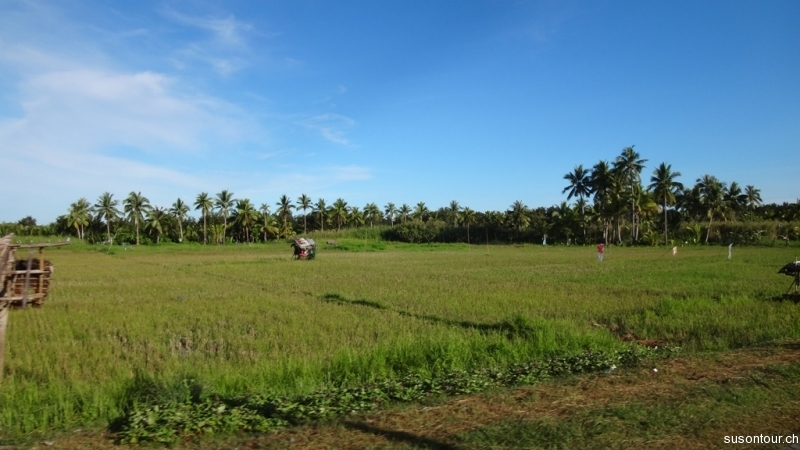 Busfahrt Padre Burgos nach Hilongo