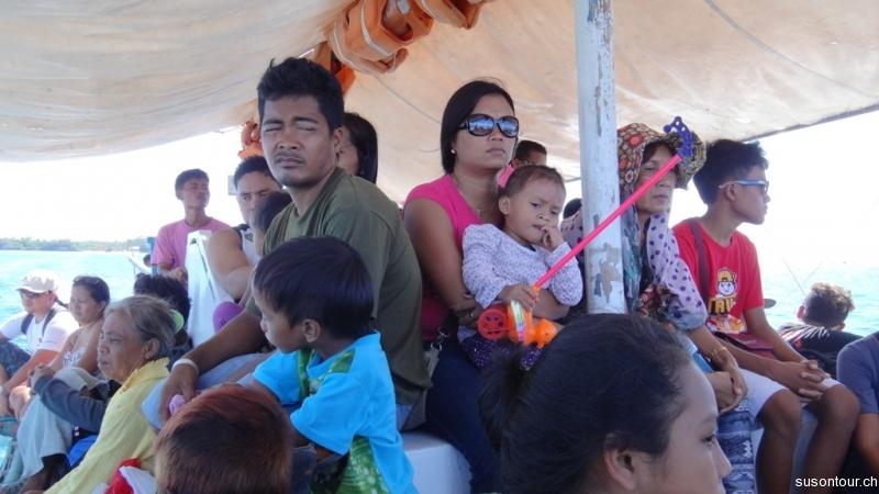 Fischerboot nach Maya