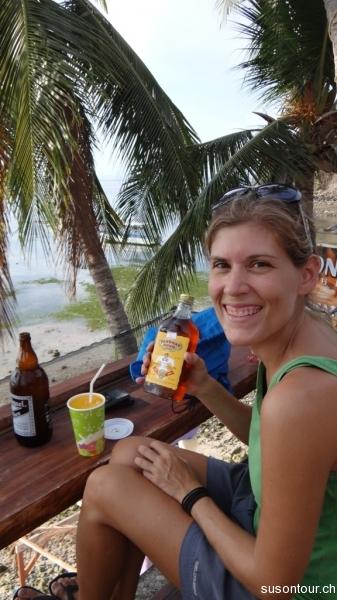 Mangoshake mit Rum